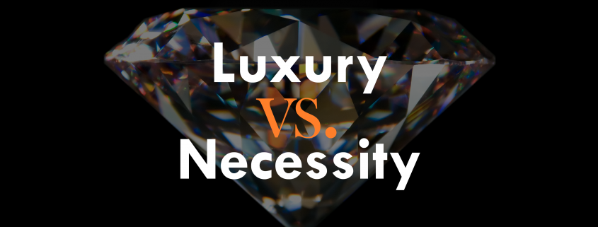 can a luxury become a necessity Uma, a parent of vivekananda vidyalaya, chennai wants to know what you think: is car a necessity or a luxury in current times view from other p.